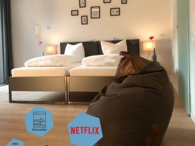 Ferienwohnung 0.3 Schlafbereich