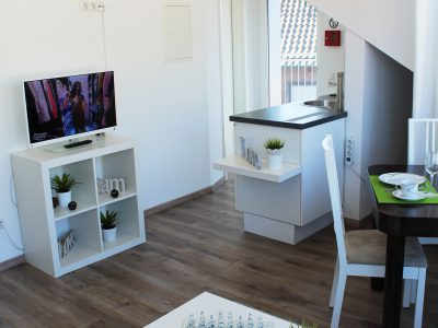 Wohn-/Küchenbereich Ferienwohnung