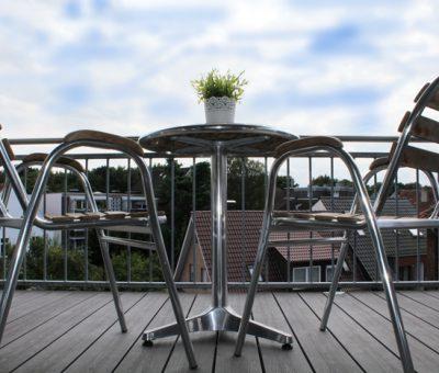 Balkon/Aussicht der Ferienwohnung