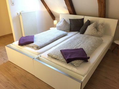Schlafzimmer Loftferienwohnung