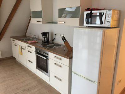 Küche Loftferienwohnung