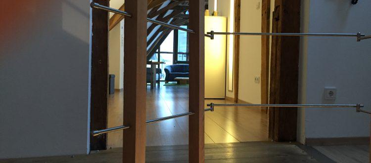 Treppenaufgang Loftferienwohnung