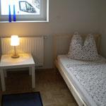 Schlafzimmer Ferienwohnung rechts
